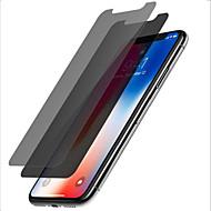 Недорогие Защитные плёнки для экрана iPhone-ASLING Защитная плёнка для экрана для Apple iPhone XS / iPhone X Закаленное стекло 2 штs Защитная пленка для экрана Уровень защиты 9H / Anti-Spy