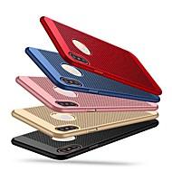 Недорогие Кейсы для iPhone 8 Plus-Кейс для Назначение Apple iPhone X / iPhone XS Ультратонкий Кейс на заднюю панель Однотонный Твердый ПК для iPhone XS / iPhone X / iPhone 8 Pluss