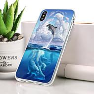billige -Etui Til Apple iPhone XR Støvsikker / Ultratyndt / Mønster Bagcover Dyr Blødt TPU for iPhone XR