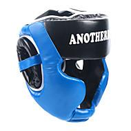 abordables Boxeo-Protección de la cabeza para boxeo / Protección de la cabeza Para Muay Thai, Kickboxing, Combate, Lucha Antigolpes, Protección, Suave Ajustable, Extra gruesa, Duradero Cuero de PU Adultos - Rojo