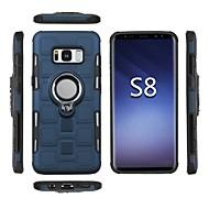 Недорогие Чехлы и кейсы для Galaxy S8-Кейс для Назначение SSamsung Galaxy S8 Plus / S8 Защита от удара / Кольца-держатели Кейс на заднюю панель броня Мягкий ТПУ для S8 Plus / S8