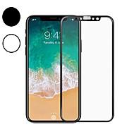 Недорогие Защитные плёнки для экрана iPhone-Защитная плёнка для экрана для Apple iPhone XS / iPhone X Закаленное стекло 1 ед. Защитная пленка для экрана / Протектор объектива спереди и камеры HD / Уровень защиты 9H / Против отпечатков пальцев