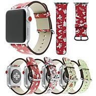 Недорогие Модные популярные товары-Ремешок для часов для Apple Watch Series 4/3/2/1 Apple Современная застежка PU Повязка на запястье