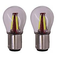 abordables Intermitentes para Coche-2pcs BA15S (1156) Coche Bombillas 4 W COB 4 LED Luz de Intermitente Para Universal Universal Universal