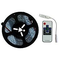 abordables -SENCART 5m Ensemble de Luminaires 300/150 LED SMD5050 1 10Keys Remote Controller RVB Découpable / Décorative / Connectible 12 V 1 set