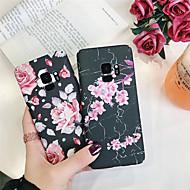 Недорогие Чехлы и кейсы для Galaxy S8 Plus-Кейс для Назначение SSamsung Galaxy S9 Plus / S8 Plus С узором Кейс на заднюю панель Цветы Твердый ПК для S9 / S9 Plus / S8 Plus