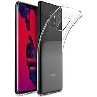 preiswerte Handyhüllen-Hülle Für Huawei Huawei Mate 20 Pro / Huawei Mate 20 Transparent Rückseite Solide Weich TPU für Mate 10 / Mate 10 pro / Mate 10 lite / Mate 9 Pro