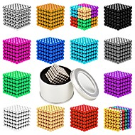 cheap Toy & Game-216 pcs 5mm Magnet Toy Magnetic Balls Magnet Toy Super Strong Rare-Earth Magnets Magnetic Stress and Anxiety Relief Office Desk Toys Relieves ADD, ADHD, Anxiety, Autism Novelty Teenager / Adults' All