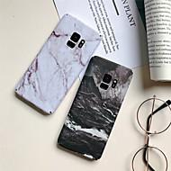 Недорогие Чехлы и кейсы для Galaxy S8-Кейс для Назначение SSamsung Galaxy S9 Plus / S9 Матовое / С узором Кейс на заднюю панель Мрамор Твердый ПК для S9 / S9 Plus / S8 Plus
