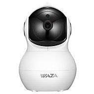 cheap -WAZA SC02 1080p 2MP Home Camera, Indoor IP Security Surveillance System Night Vision Home/Office / Baby/Nanny / Pet Monitor iOS, Android App