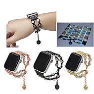 billige -Urrem for Apple Watch Series 4/3/2/1 Apple Sportsrem / Smykkedesign Metal Håndledsrem