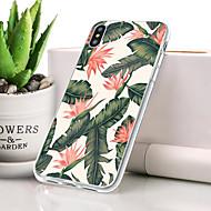 billige -Etui Til Apple iPhone XR Støvsikker / Ultratyndt / Mønster Bagcover Blomst Blødt TPU for iPhone XR