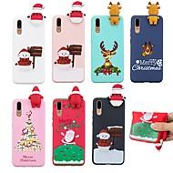 preiswerte Handyhüllen-Hülle Für Huawei P20 / P20 Pro Muster Rückseite Weihnachten Weich TPU für Huawei Nova 3i / Huawei P20 / Huawei P20 Pro / P10 Lite / P10