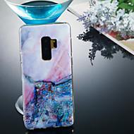 abordables Galaxy S4 Carcasas / Fundas-Funda Para Samsung Galaxy S9 Plus / S9 IMD / Diseños Funda Trasera Mármol Suave TPU para S9 / S9 Plus / S8 Plus