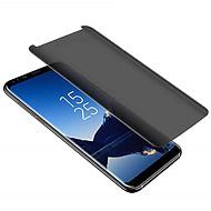 お買い得  Samsung 用スクリーンプロテクター-ASLING スクリーンプロテクター のために Samsung Galaxy S9 / S9 Plus 強化ガラス 1枚 スクリーンプロテクター 硬度9H / 覗き見防止 / 3Dラウンドカットエッジ