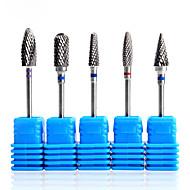 billige -1pc Vand resistent / Bedste kvalitet Negle kunst Manicure Pedicure Porcelæn / Metal Unikt design Daglig