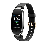 cheap -Indear S3PLUS Smart Bracelet Smartwatch Android iOS Smart Sports Waterproof Heart Rate Monitor Pedometer Activity Tracker Sleep Tracker Sedentary Reminder Find My Device / Touch Screen / Alarm Clock