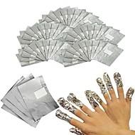 billige -100pcs Multifunktionel / Bedste kvalitet White Series Negle kunst Manicure Pedicure Miljøvenligt materiale Stilfuld / Trendy Daglig