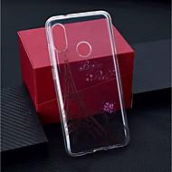 preiswerte Handyhüllen-Hülle Für Xiaomi Xiaomi Pocophone F1 / Xiaomi Redmi 6 Pro Transparent / Muster Rückseite Eiffelturm Weich TPU für Xiaomi Redmi Note 6 / Xiaomi Pocophone F1 / Xiaomi Redmi 6 Pro