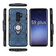 Недорогие Чехлы и кейсы для Galaxy Note-Кейс для Назначение SSamsung Galaxy S9 / S8 Защита от удара / Кольца-держатели Кейс на заднюю панель броня Мягкий ПК для S9 / S9 Plus / S8 Plus