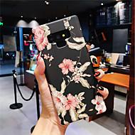 Недорогие Чехлы и кейсы для Galaxy Note 8-Кейс для Назначение SSamsung Galaxy Note 9 / Note 8 Сияние в темноте / Матовое Кейс на заднюю панель Цветы Твердый ПК для Note 9 / Note 8