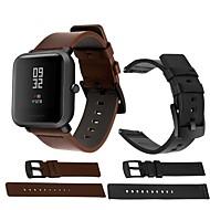 Недорогие Ремешки для часов Xiaomi-Ремешок для часов для Huami Amazfit A1602 / Huami Amazfit A1607 Xiaomi Спортивный ремешок / Классическая застежка Кожа Повязка на запястье