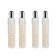 お買い得  LED コーン型電球-4本 8.5 W 1105 lm BA15D LEDコーン型電球 T 125 LEDビーズ SMD 2835 調光可能 温白色 / クールホワイト 110 V