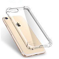 preiswerte Angebote des Tages-Hülle Für Apple iPhone X / iPhone 7 / iPhone 7 Plus Stoßresistent / Transparent Rückseite Solide Weich TPU für iPhone X / iPhone 8 Plus / iPhone 8
