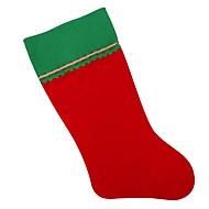 abordables Artículos para el Hogar-Medias de Lencería / Navidad / Medias de Navidad Vacaciones / Árbol de Navidad No Tejido Rectangular Fiesta Decoración navideña