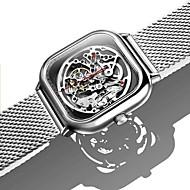 billige -xiaomi mi ciga udhulede mekaniske armbåndsure se reddot vinder rustfri mode luksus automatiske ure