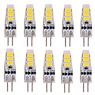お買い得  -10個 3 W 200-300 lm G4 LED2本ピン電球 T 6 LEDビーズ SMD 5730 かわいい 12 V