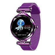 お買い得  -BoZhuo H1 女性 スマートブレスレット Android iOS ブルートゥース スポーツ 防水 心拍計 血圧測定 消費カロリー 歩数計 着信通知 睡眠サイクル計測器 座りがちなリマインダー 端末検索 / 目覚まし時計
