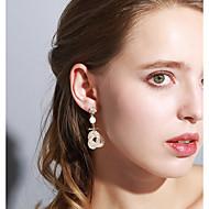 levne -Dámské Lustr Visací náušnice - Umělé diamanty Luxus Šperky Zlatá Pro Svatební Párty Jdeme ven 1 Pair