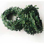 זול -פרחים מלאכותיים 1 ענף קלאסי / להתקנה על הקיר כפרי / אביזרי במה צמחים סל פרח