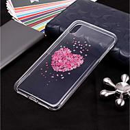 hoesje Voor Apple iPhone XR / iPhone XS Max Transparant / Patroon Achterkant Bloem Zacht TPU voor iPhone XS / iPhone XR / iPhone XS Max