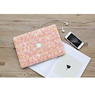 """זול -MacBook נרתיק פרח PVC ל מקבוק פרו13אינץ'עם תצוגת רטינה / מקבוק פרו15אינץ'עם תצוגת רטינה / New MacBook Air 13"""" 2018"""