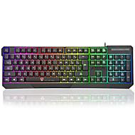 preiswerte Tastaturen-Factory OEM Kabel Multi farbige Hintergrundbeleuchtung 104 pcs Computer Zubehör Neues Design / Farbverläufe Knopf angetrieben