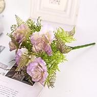 זול -פרחים מלאכותיים 2 ענף קלאסי חתונה / פרחי חתונה אדמוניות פרחים לשולחן