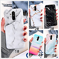 cheap Cell Phone Cases-Case For Huawei P20 Pro / P20 lite IMD Back Cover Marble Soft TPU for Huawei Nova 3i / Huawei P20 / Huawei P20 Pro