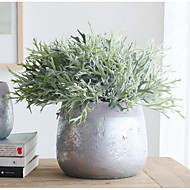 povoljno -Umjetna Cvijeće 2 Podružnica Klasični Rekviziti / Orientalno Biljke / Božićno drvce Cvjeće za stol