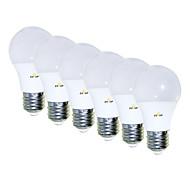 voordelige -EXUP® 6pcs 5 W 450 lm E26 / E27 LED-bollampen 15 LED-kralen SMD 2835 Creatief / Aanbiddelijk / Cool Warm wit 85-265 V