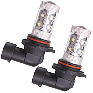 cheap -OTOLAMPARA 2pcs BA15S(1156) / H10 / H9 Car Light Bulbs 50 W SMD 335 1600 lm 10 LED Fog Lights For Honda / Chevrolet / Citroen Elysee / Malibu / Odyssey 2018 / 2017 / 2019