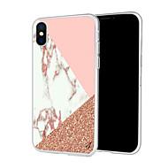 저렴한 -케이스 제품 Apple iPhone XS / iPhone XR 패턴 뒷면 커버 마블 소프트 TPU 용 iPhone XS / iPhone XR / iPhone XS Max