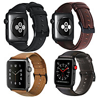 cheap -Smartwatch Band for Apple Watch Series 4/3/2/1 Apple Genuine Leather Fashion Soft Band Wrist Strap