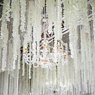 お買い得  -人工花 1 ブランチ クラシック 壁掛け式 一時停止中 パーティー 結婚式 花びら マグノリア バスケット フラワー
