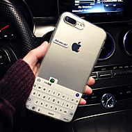 저렴한 -케이스 제품 Apple iPhone XR / iPhone XS Max 패턴 뒷면 커버 단어 / 문구 소프트 TPU 용 iPhone XS / iPhone XR / iPhone XS Max