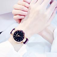 levne -Dámské Hodinky k šatům zlaté hodinky Křemenný Černá / Modrá / Fialová Nový design Analogové Na běžné nošení Módní - Fialová Modrá Růžové zlato