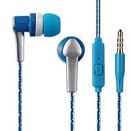 お買い得  -LITBest WP15 耳の中 ケーブル ヘッドホン イヤホン ABS + PC 携帯電話 イヤホン スポーツ&アウトドア / クール / ステレオ ヘッドセット