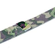 저렴한 -스테인레스 스틸 시계 밴드 견장 용 Apple Watch Series 4/3/2/1 그린 23cm / 9 인치 2.1cm / 0.83 인치