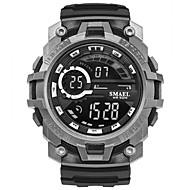 저렴한 -남성용 스포츠 시계 디지털 시계 디지털 퀼트 인조 가죽 블랙 / 카키 / 클로버 달력 스톱워치 야광 디지털 캐쥬얼 패션 - 그린 블루 카키
